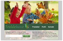 Troldehave - sanseoplevelser til børn